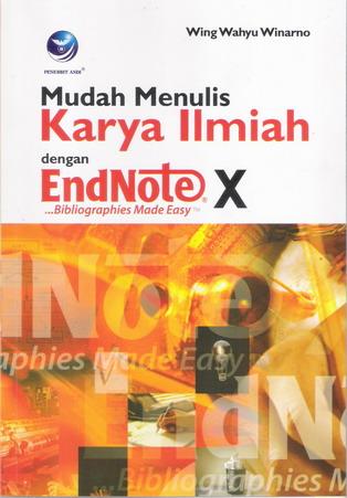 Kover depan buku EndNote