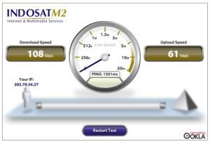 Tes kecepatan dgn Smart