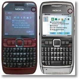 Nokia E63 dan E71 yang dijiplak oleh HT G30.