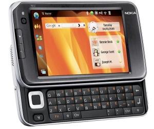 Nokia N810, mirip ponsel, padahal bukan.