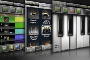 Music Studio, memainkan band dari iPhone